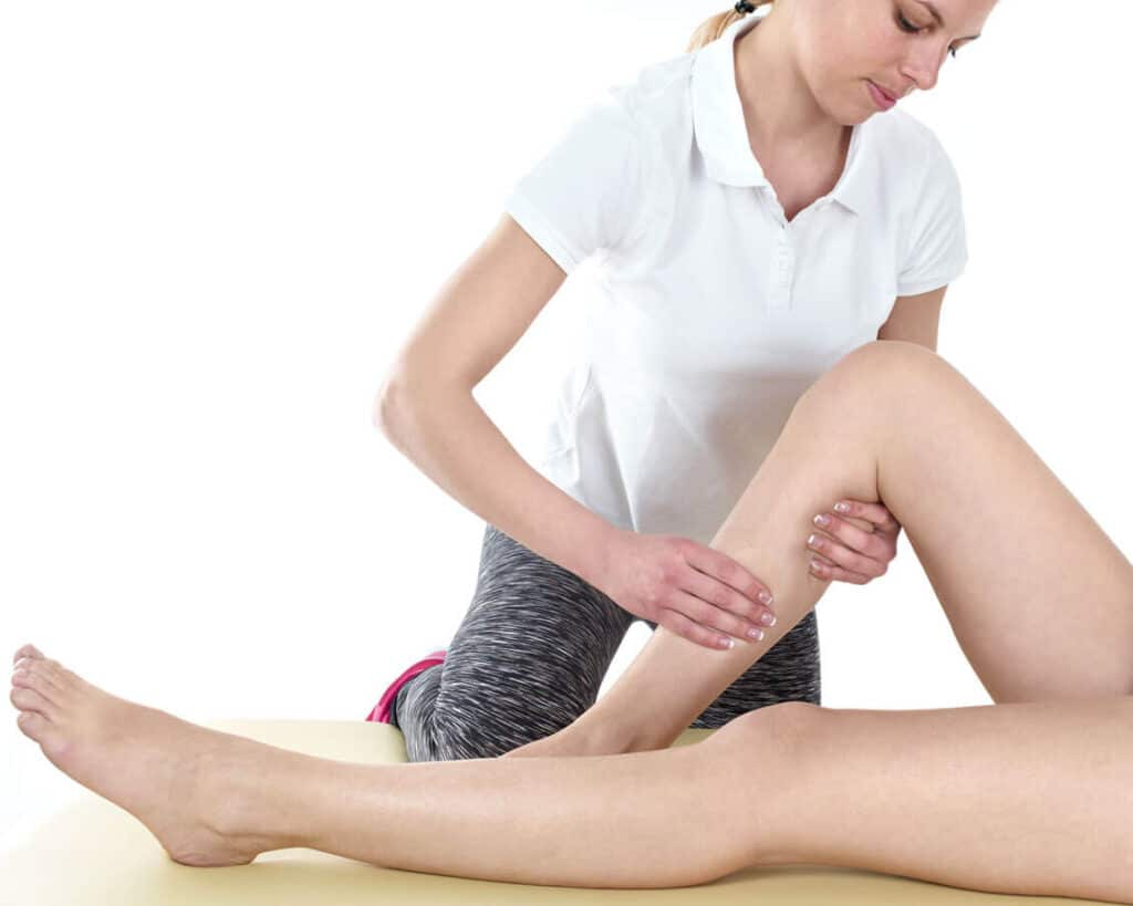 Knee manipulation by a physio based in knutsford